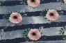 Blumen blau-rosa