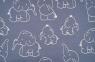 Elefanten blau