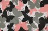 Schmetterlinge grau-rosa