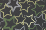 Sterne grün grau