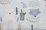 Bär Fuchs blau