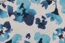 Blumen blau-weiß