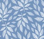Blättertraum blau