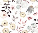 Blumentraum grau