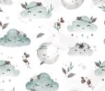 Boho Clouds mint