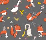 Fox & Goose grau