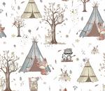 woodland animals weiß